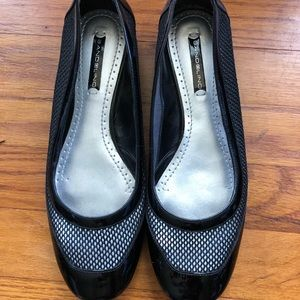 Women's flat shoes black spring summer shoes